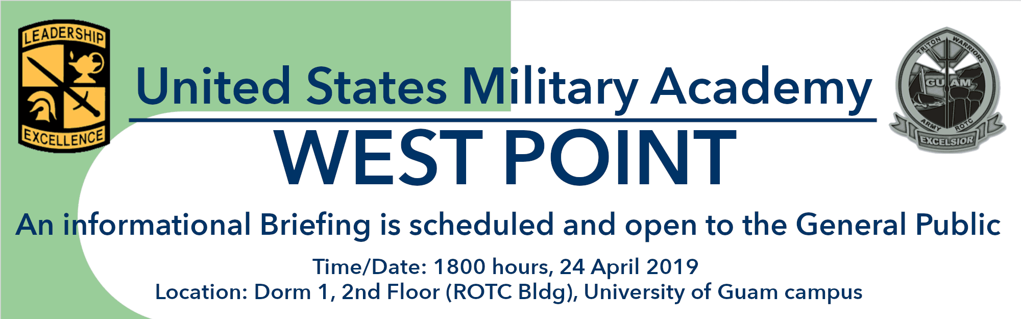 West Point Public Briefing banner