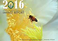 2016 Impact Report Cover